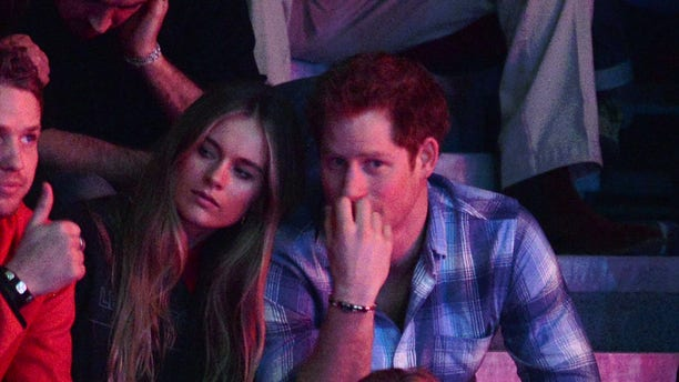 Cressida Bonas and Prince Harry attend We Day UK on March 7, 2014, in London. The couple reportedly split because she couldn't handle royal life.