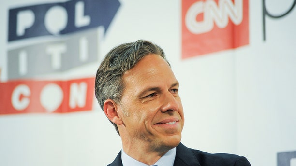 """CNN anchor Jake Tapper hosts """"The Lead.""""<br> """