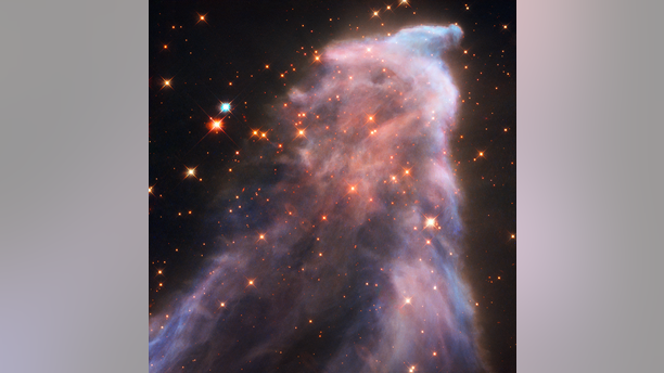 """The incredible """"Ghost of Cassiopeia"""" image was captured by NASA's Hubble Space Telescope. (NASA, ESA and STScI; Acknowledgment: H. Arab [University of Strasbourg])"""