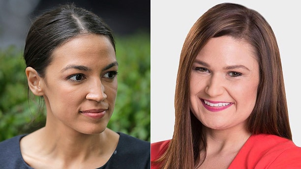State Rep. Abby Finkenauerof Iowa (right) and Alexandria Ocasio-Cortez(left) of New York are poised to be the youngest members of Congress at just 29 years old if elected.