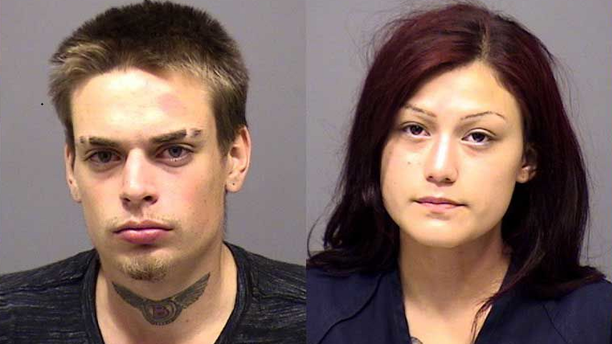 Edward Cerf, left, and Gabriella Solis, were accused of an attempted break-in of an Oregon couple's home.
