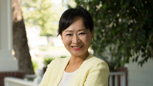 Sunny Park, a candidate for city council in California, was arrested last week for allegedly stealing negative campaign signs.