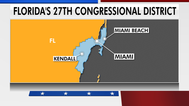 The South Florida House district stretches across Miami Beach, Coral Gables, Key Biscayne and Little Havana. (Fox News)