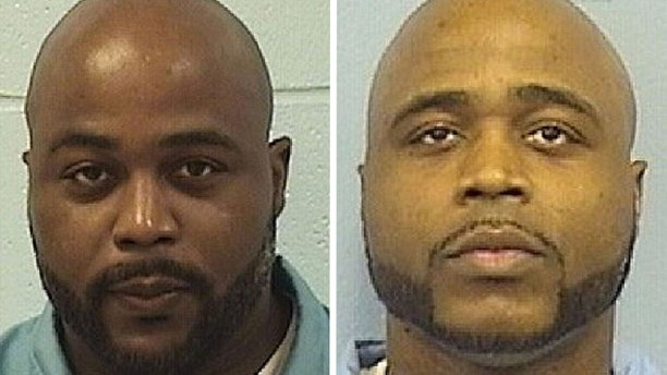 Karl Smith, left, claimed in 2016 that he committed the murder for which his identical twin brother, Kevin Dugar, right, was convicted.