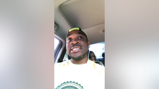 Corey Lewis said a woman stopped him outside a Cobb County Walmart on Sunday and demanded to speak to the kids to check if they were OK.
