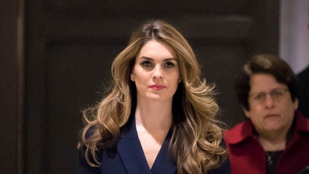 White House communications director Hope Hicks, a longtime Trump associate, resigned.
