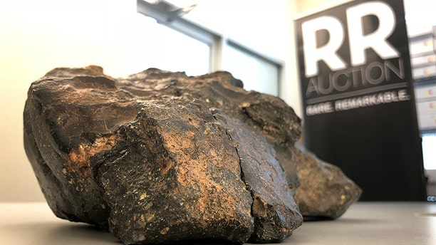 A Boston-basedauction houseis looking for the next proud owner of a 12-pound lunar meteorite, said to have an estimated price tag of $500,000.