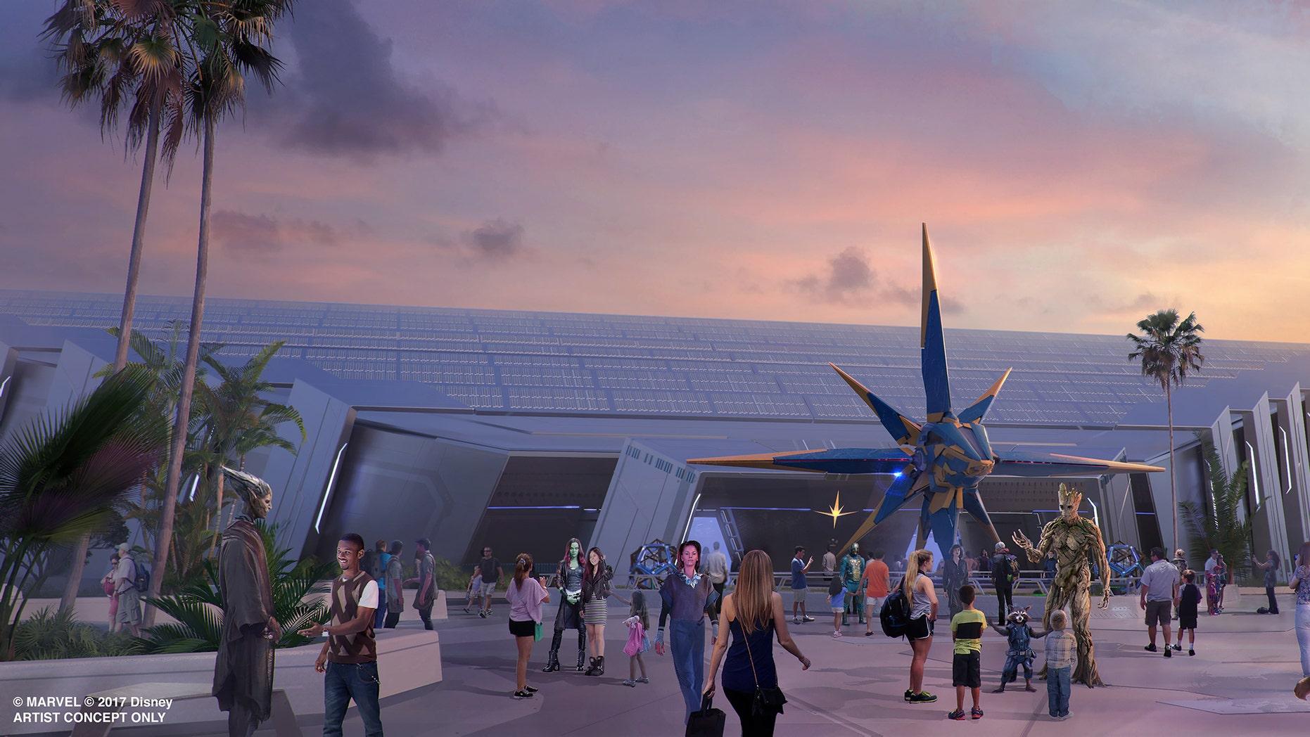 The next Marvel adventure at Walt Disney World will be a