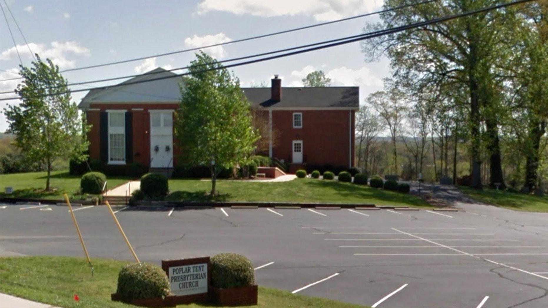 Poplar Tent Presbyterian Church in Kannapolis, North Carolina.
