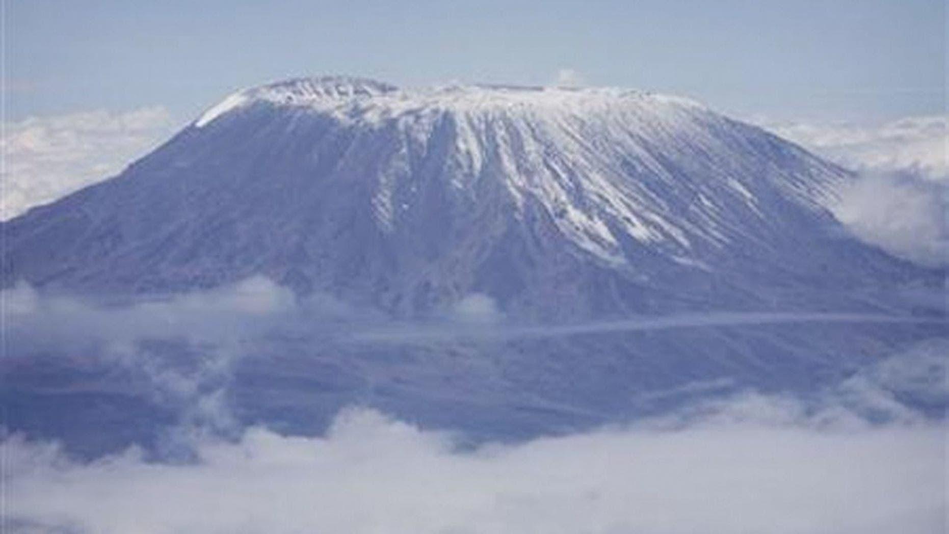 Mark Pattison's seven summits climb includes Mount Kilimanjaro in Africa.