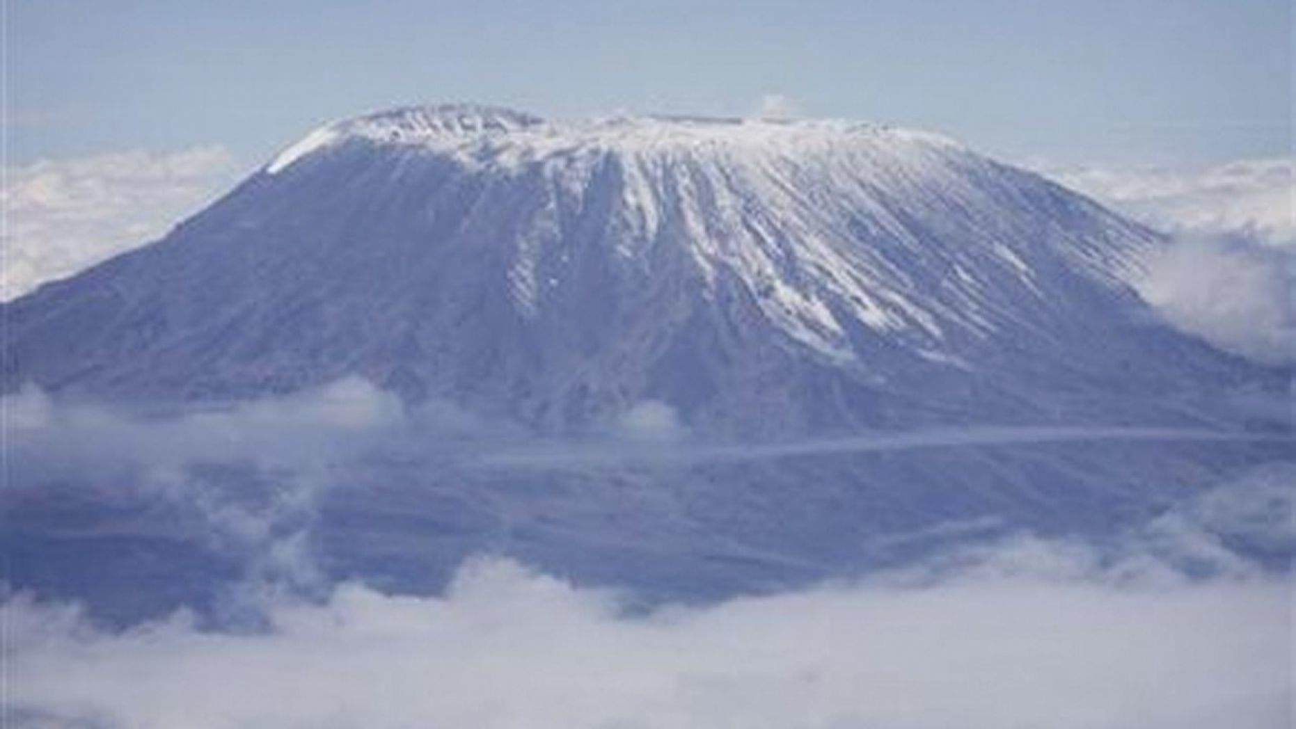 Mark Pattison's 7 summits stand includes Mount Kilimanjaro in Africa.