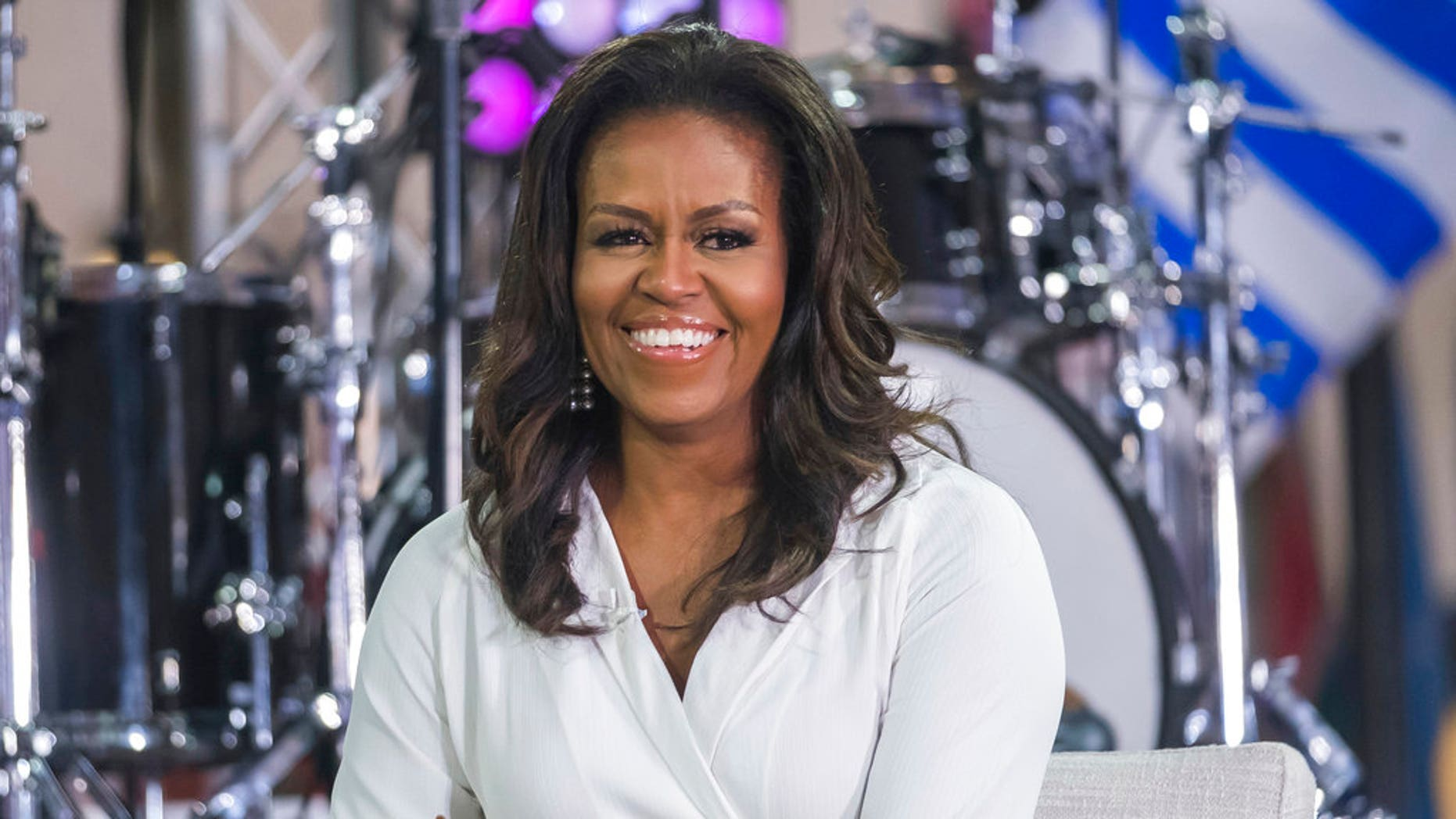 FILE: Michelle Obama participating in a International Day of a Girl on NBC's Today uncover in New York.