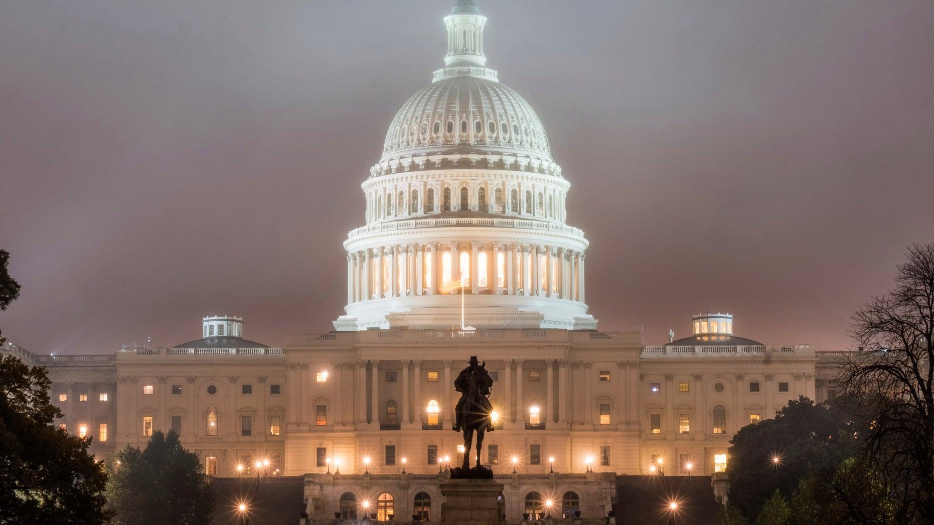 FILE -- Capitol Building in Washington (AP Photo/J. David Ake, File)