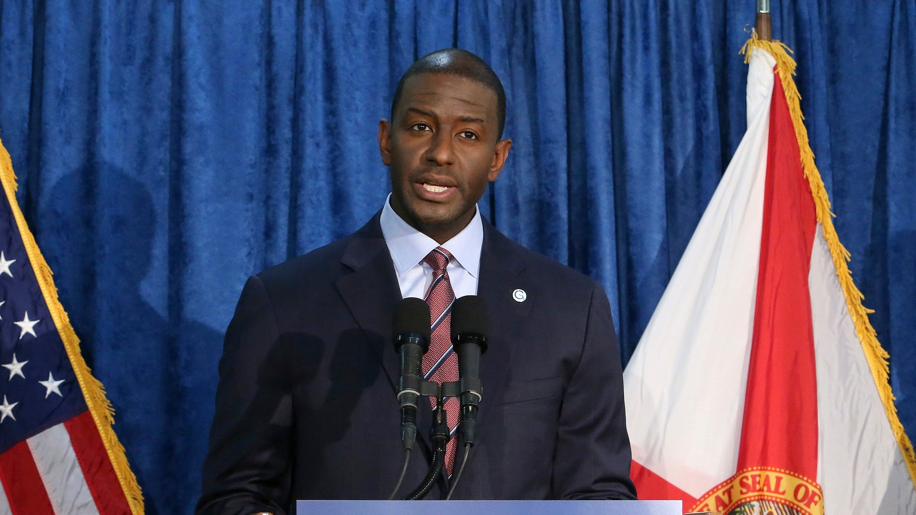 Andrew Gillum concedes Florida governor's race to Ron DeSantis""