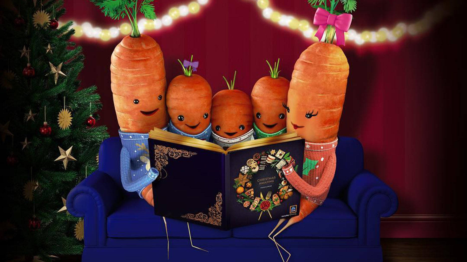 Kevin the Carrot and his whole family are the hit toy of the season.
