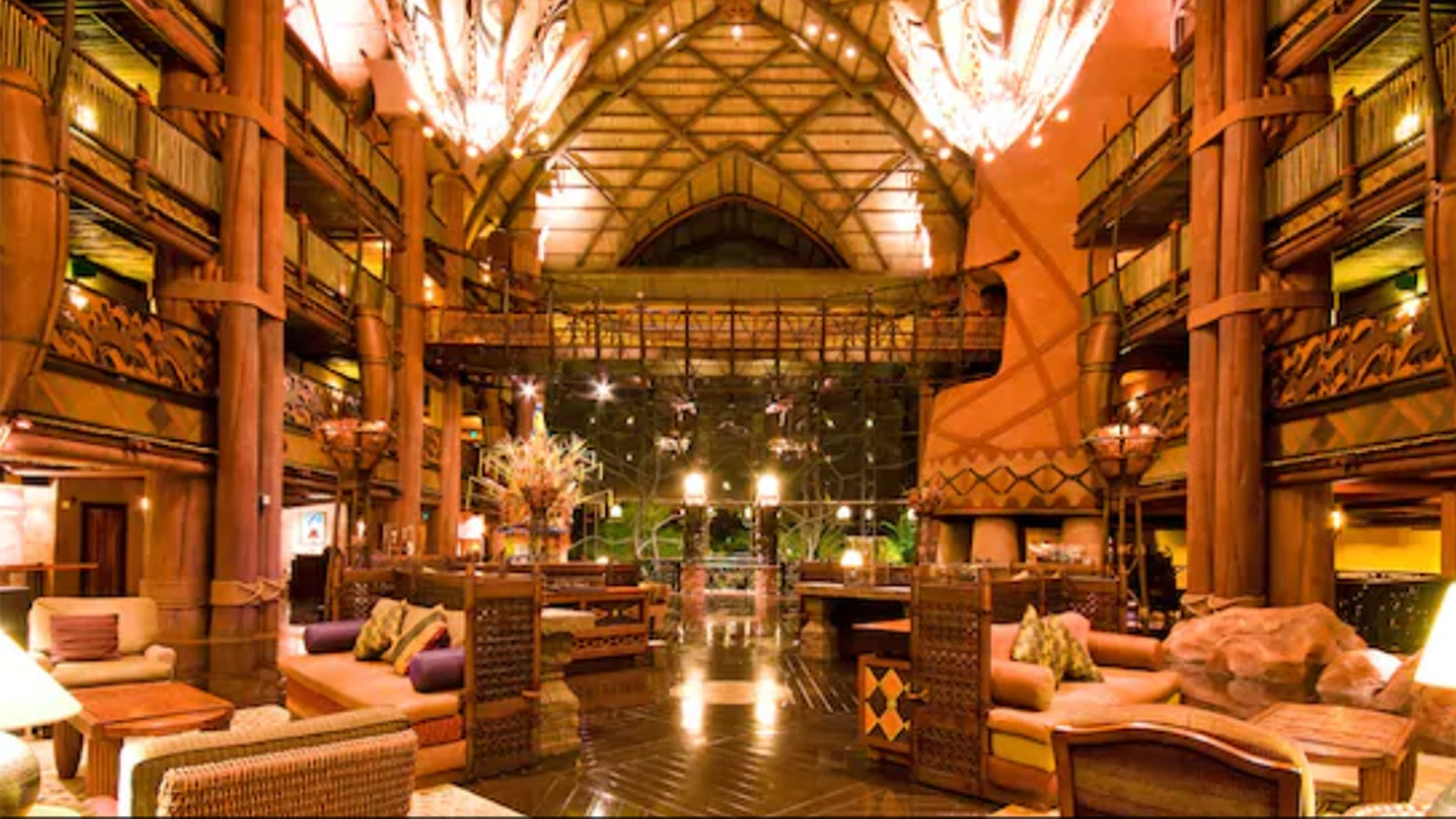 A woman entered Disney's Animal Kingdom Lodge claiming a newborn was abandoned by a fleeing mother. Authorities determined she was actually the baby's mother.