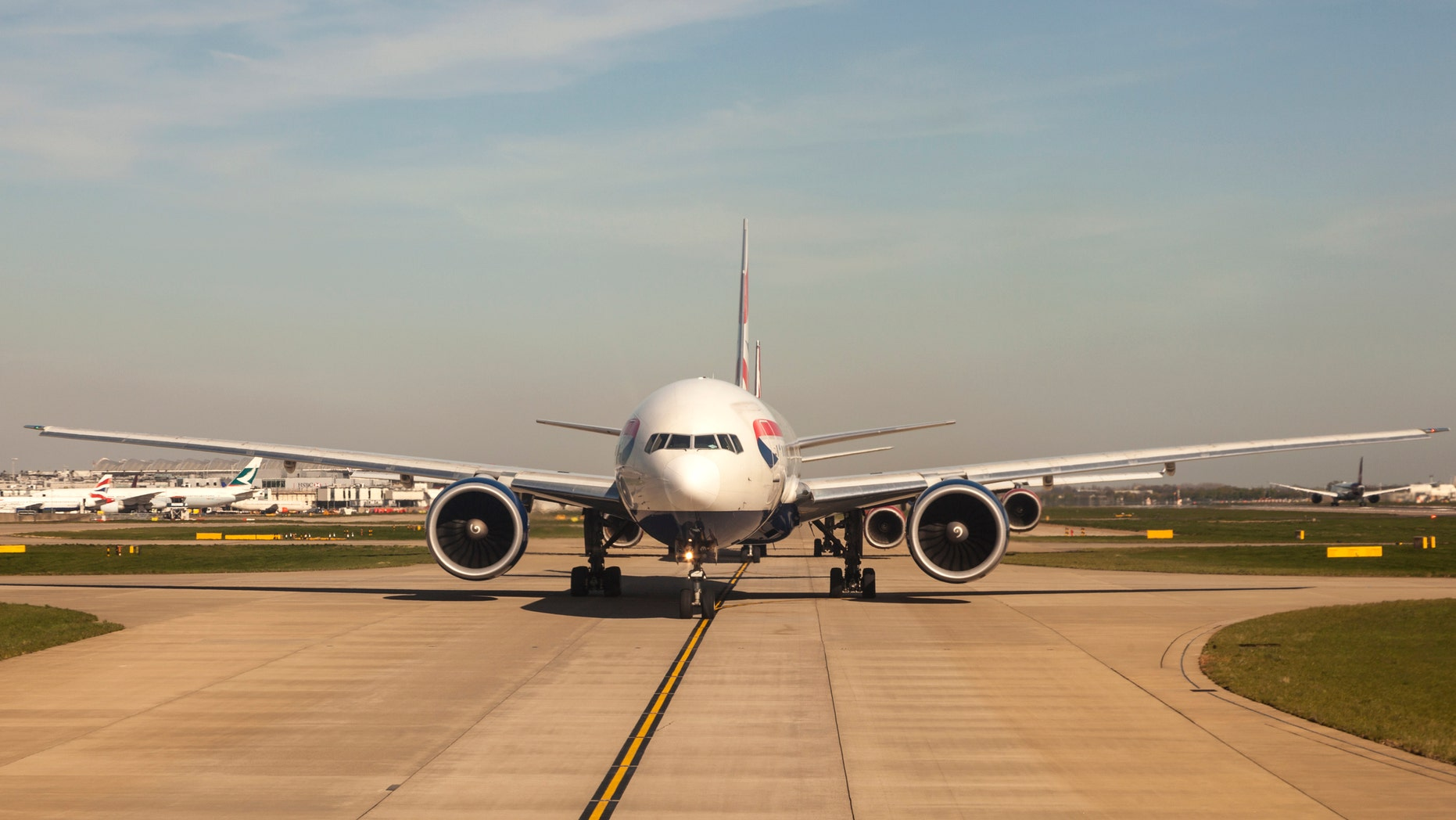 Passengers complained of being stuck on flights waiting to depart — bothmHeathrow and other airports — after a problem with the runway lights.