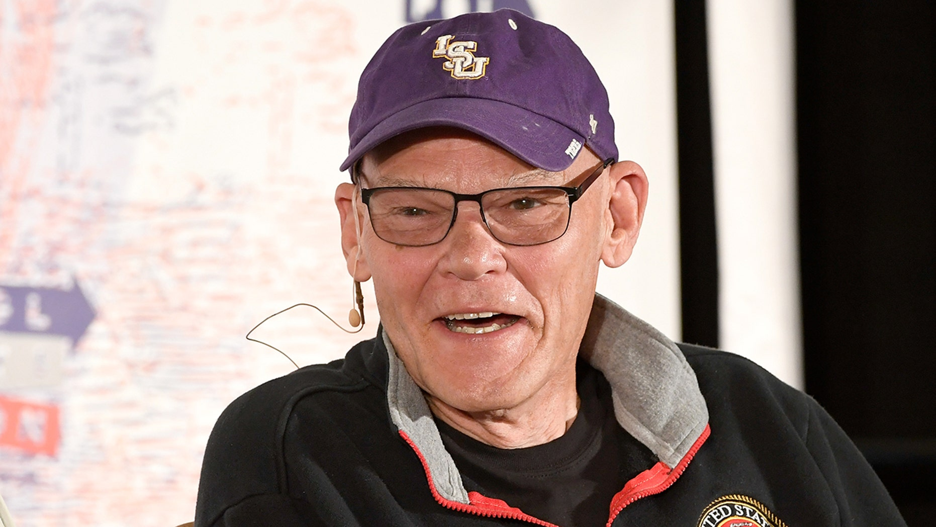 James Carville, former lead strategist for former President Clinon, slammed ESPN on Saturday for a network's reparation about his speculation on a SEC.