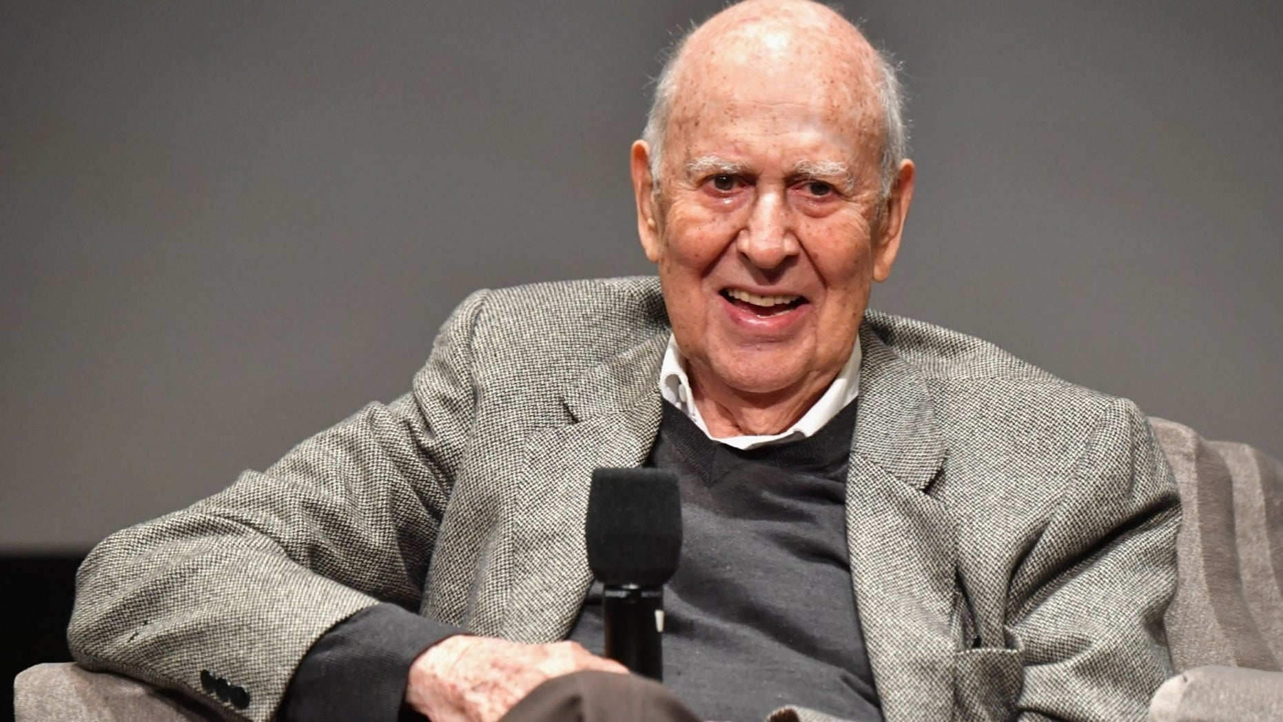 Carl Reiner said his personal goal was to live to 2020 in order to vote President Trump out of office.