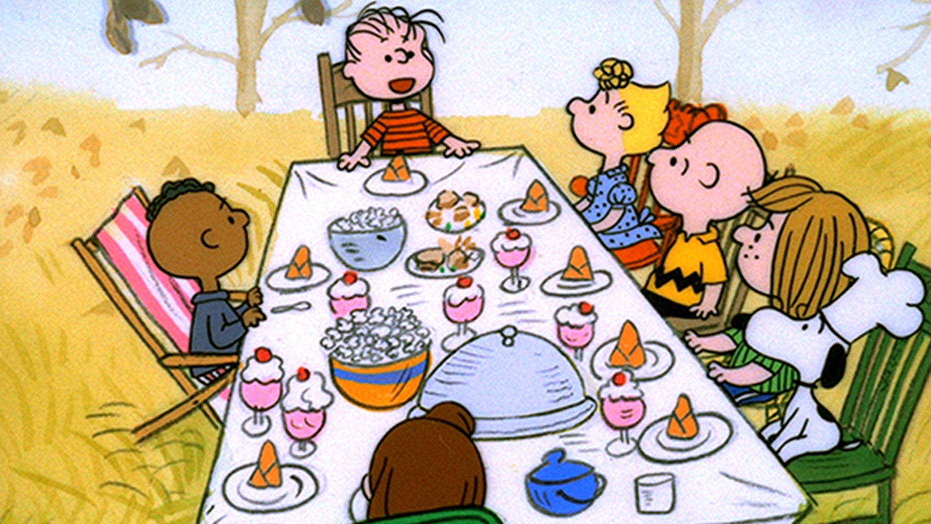 a charlie brown thanksgiving is getting heat for its portrayal of a black character