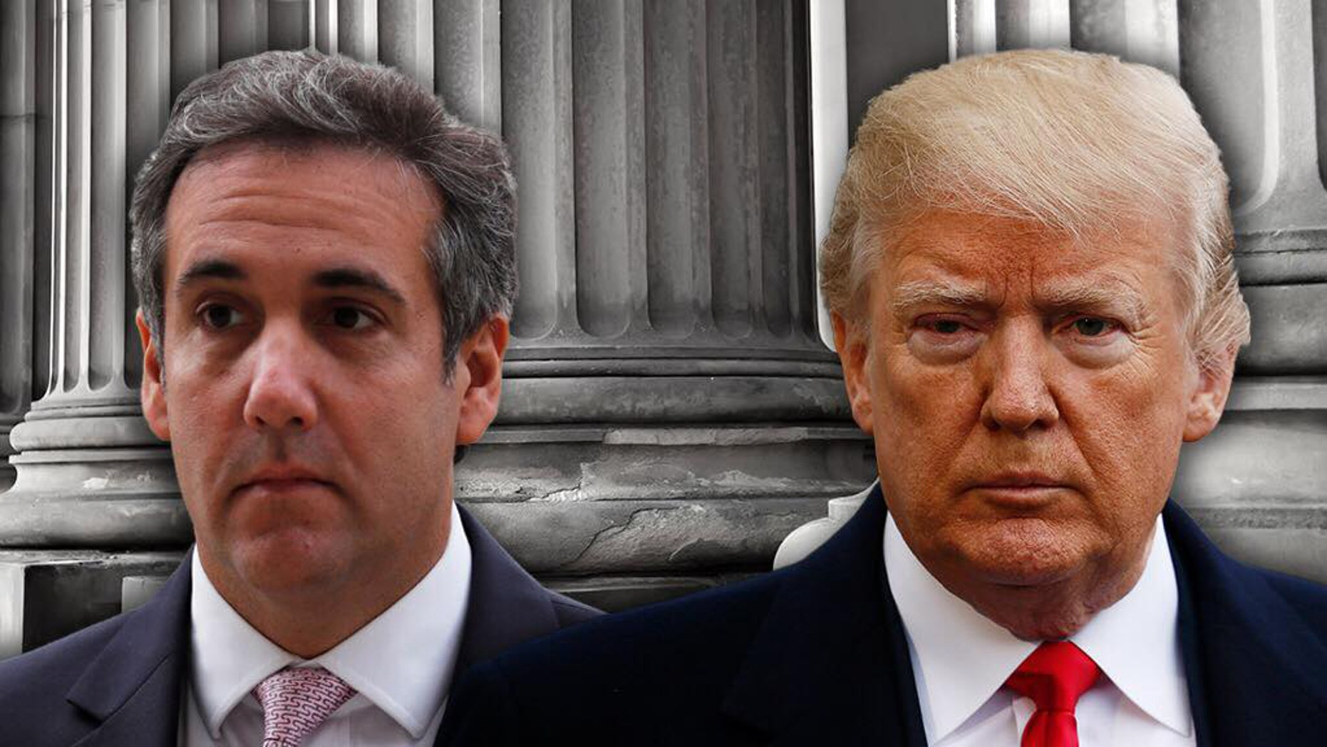 Michael Cohen, left, a former personal lawyer for President Trump, is awaiting sentencing after pleading guilty to campaign-finance and fraud charges.
