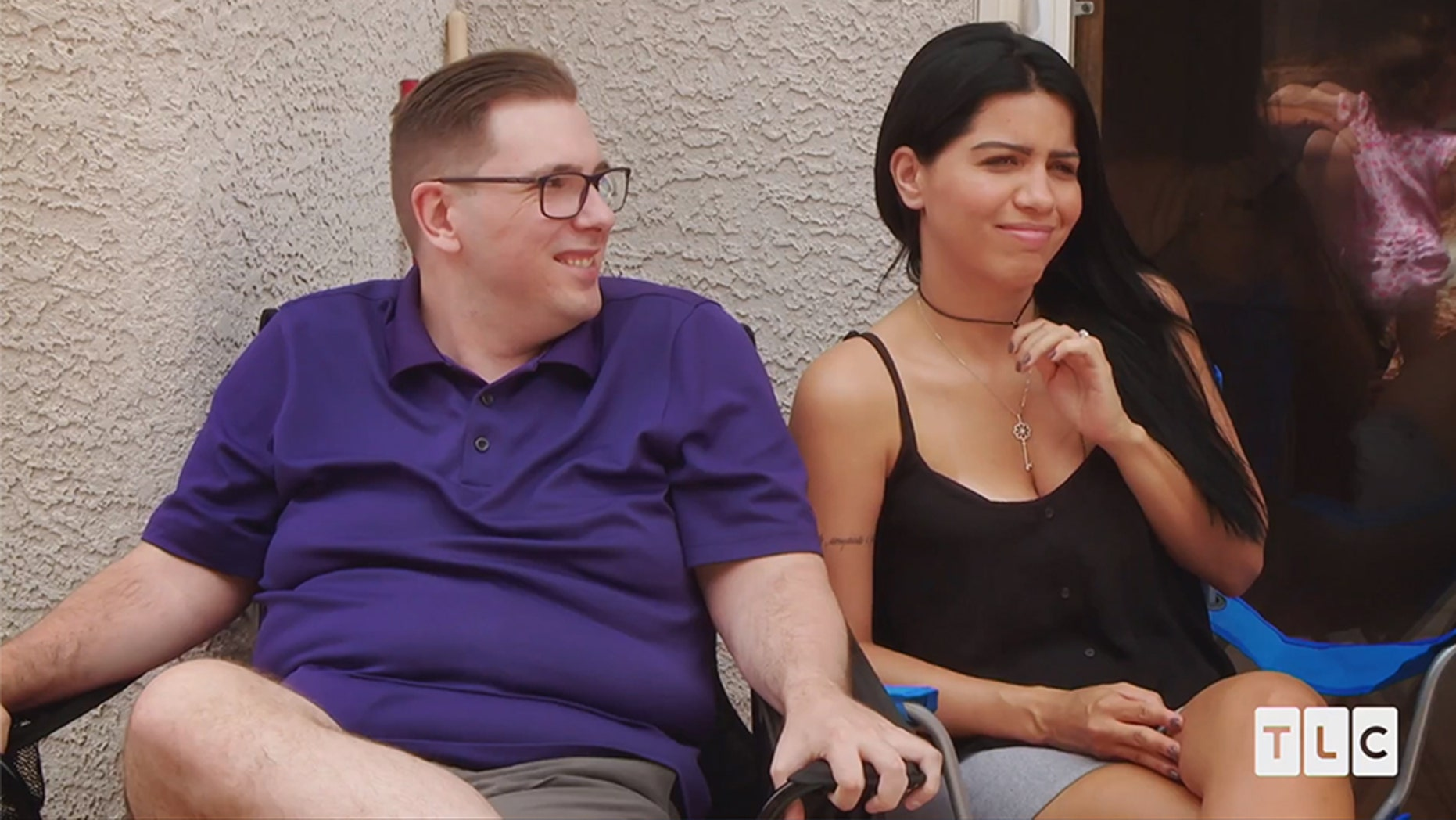 Larissa Dos Santos Lima (R), who was arrested on Saturday, November 10, in Las Vegas, due to a local battery, who has seen a 90-day Fiancé with Colt Johson (L) in the current season.