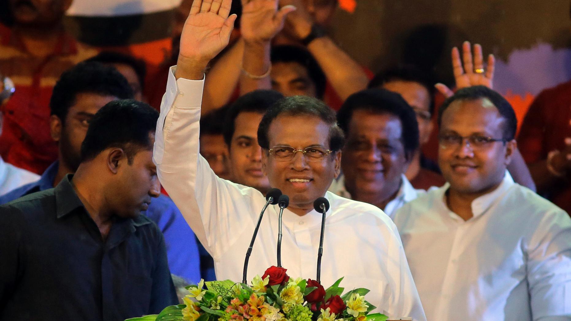 5 2018 File Photo Sri Lankan President