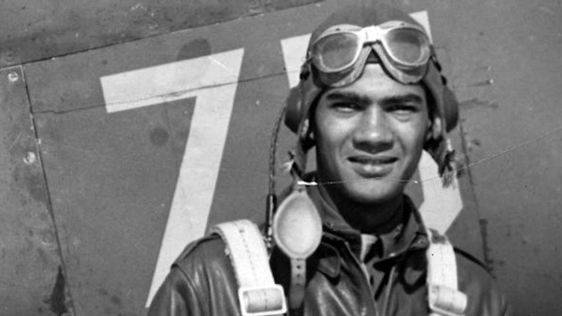 Lawrence Dickson, seen here in an undated photo, is the first of the 27 Tuskegee Airmen still listed as missing in action whose remains the Pentagon has identified. (Defense POW/MIA Accounting Agency via AP)