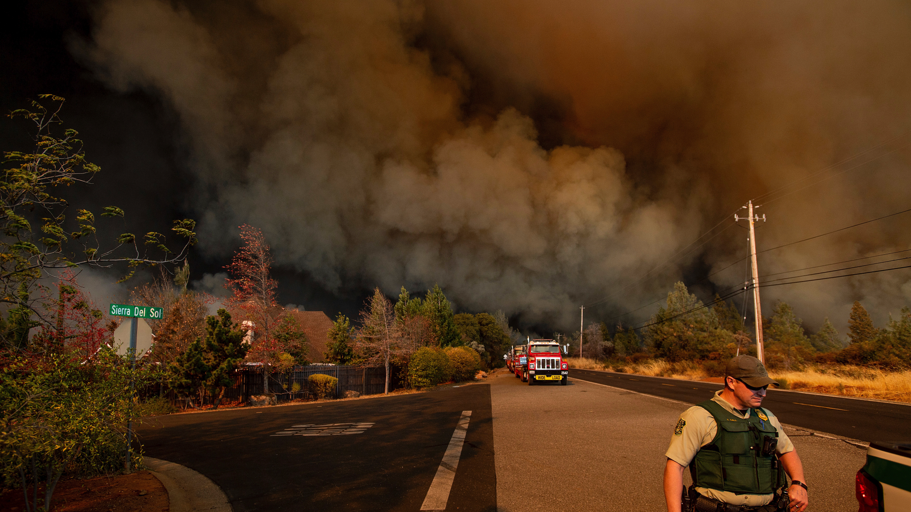 hundreds of buildings destroyed in northern california fire fox news