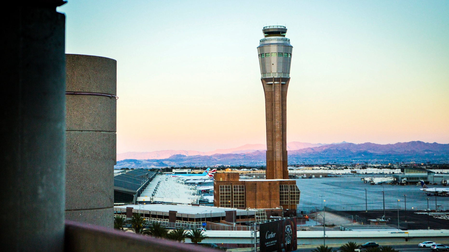 Federal and airport authorities said Friday they are investigating why an air traffic controller became incapacitated and went silent while working a night shift alone in the tower at busy McCarran International Airport in Las Vegas. (Jeff Scheid/Las Vegas Review-Journal via AP, File)