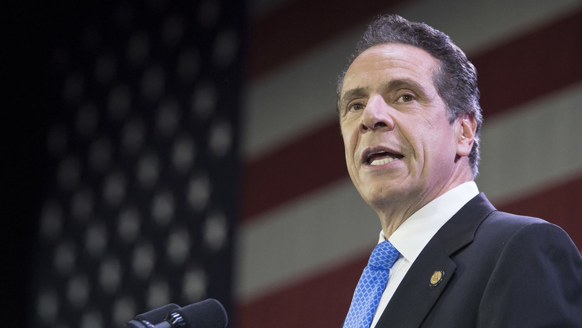 """New York Gov. Andrew Cuomo said he's """"ruling out"""" a 2020 presidential bid."""