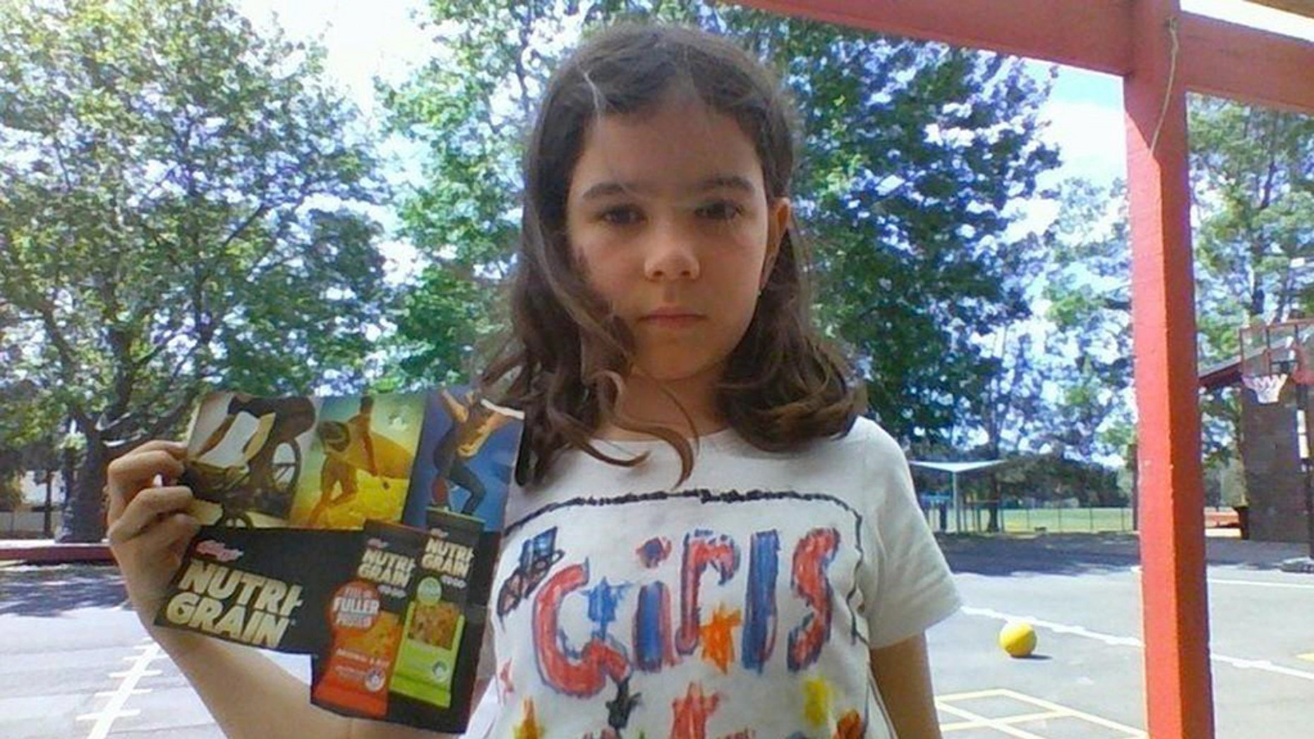 """An 8-year-old girl started a petition to get Kellogg's cereal to include girls as well as boys """"doing awesome things"""" on their boxes."""