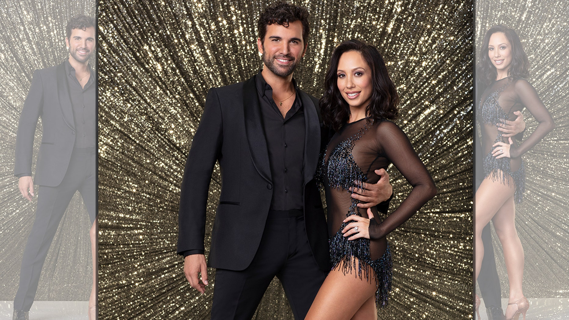 """Dancing with the Stars""  contestant Juan Pablo Di Pace and his partner, Cheryl Burke were eliminated from the ABC reality show Monday night."