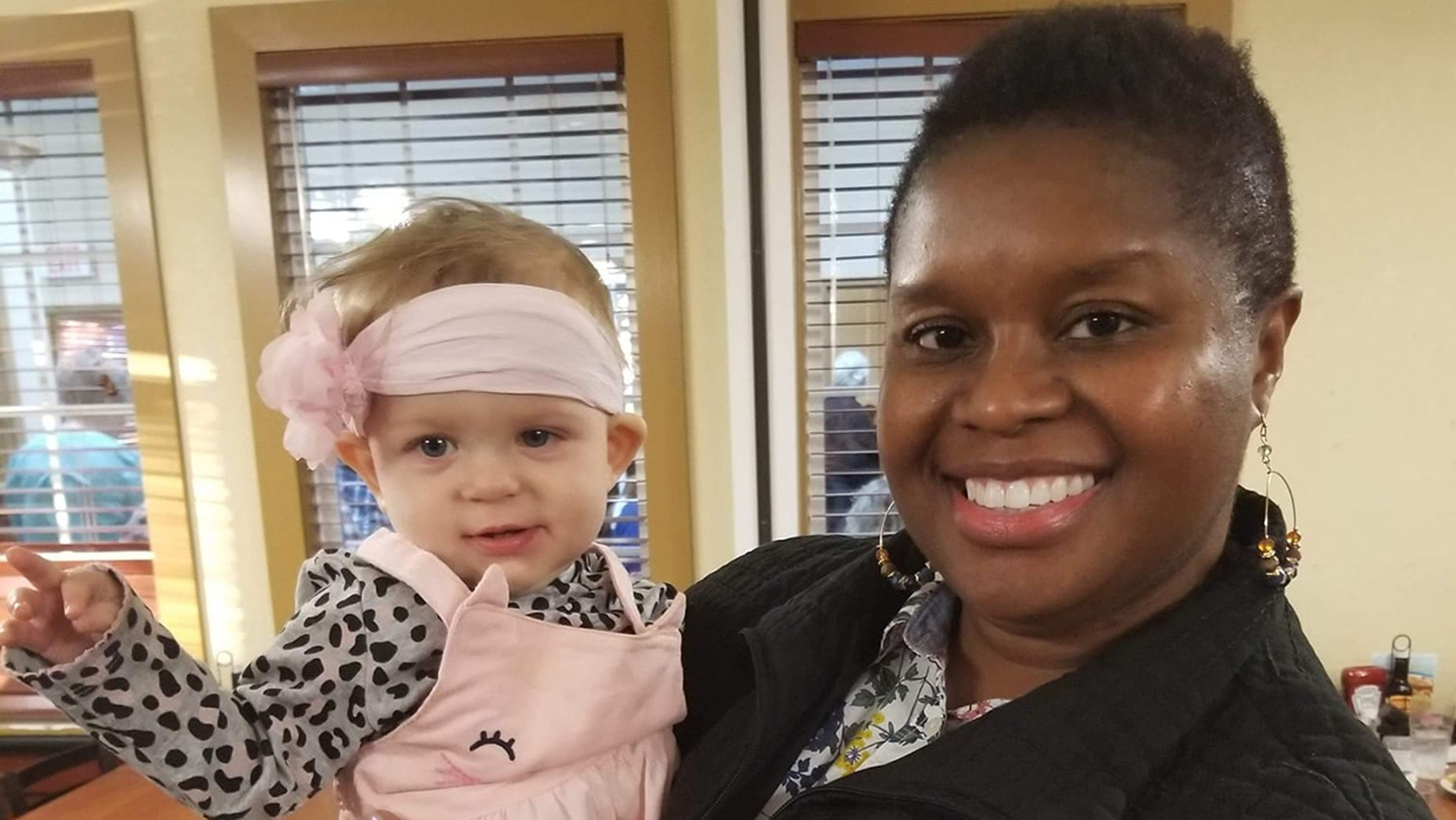 Deborah Rouse's quick thinking saved baby Calli's life on Thanksgiving.