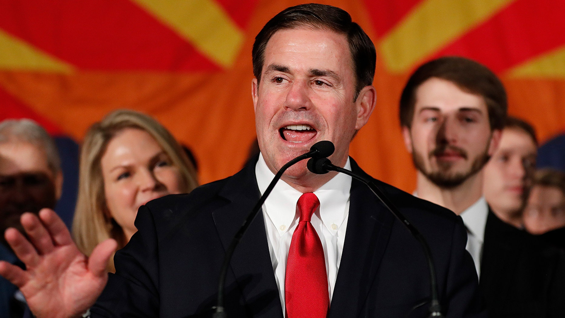 Republican Gov. Ducey won reelection Tuesday night, defeating Democratic challenger David Garcia.