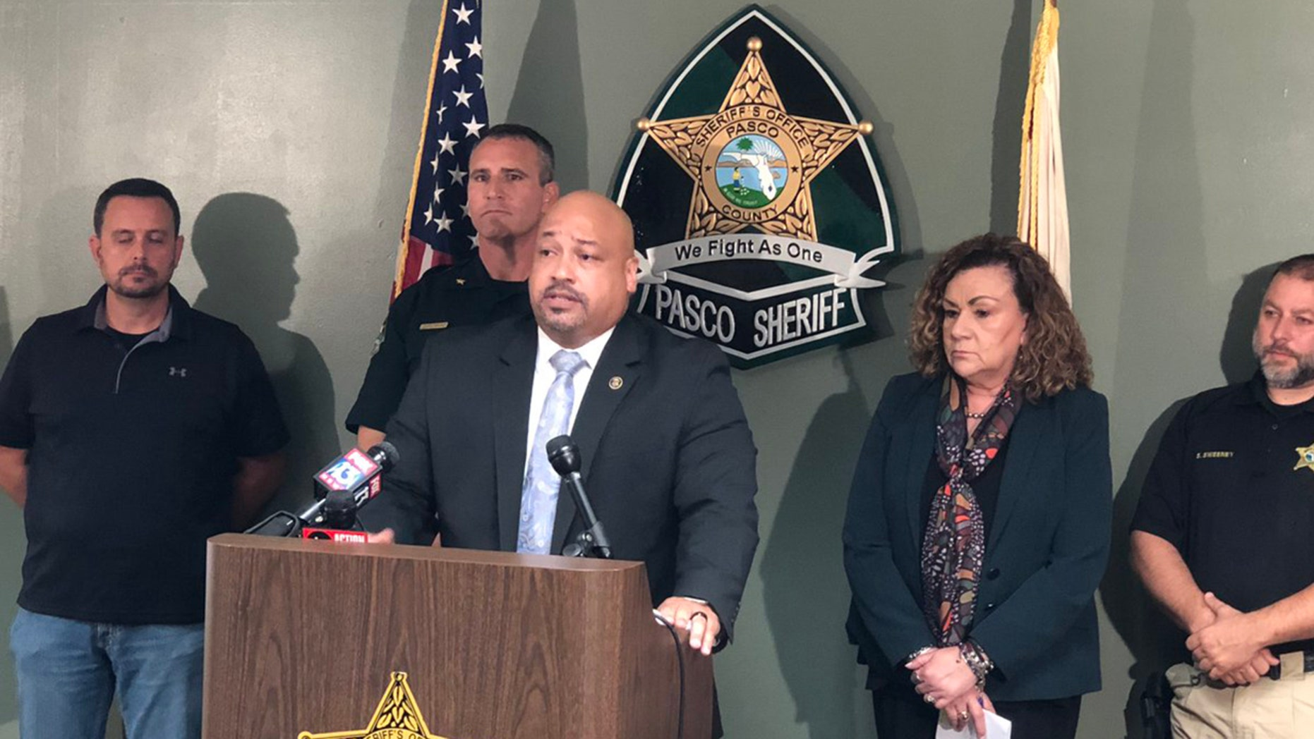 ATF Tampa Assistant Special Agent in Charge Craig Kailimai speaks about a major firearms and drug operation in Florida.