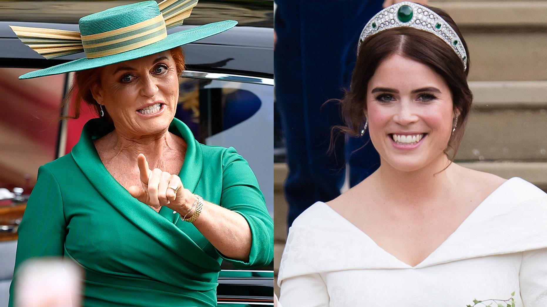 Sarah Ferguson commented on her daughter Princess Eugene's wedding.