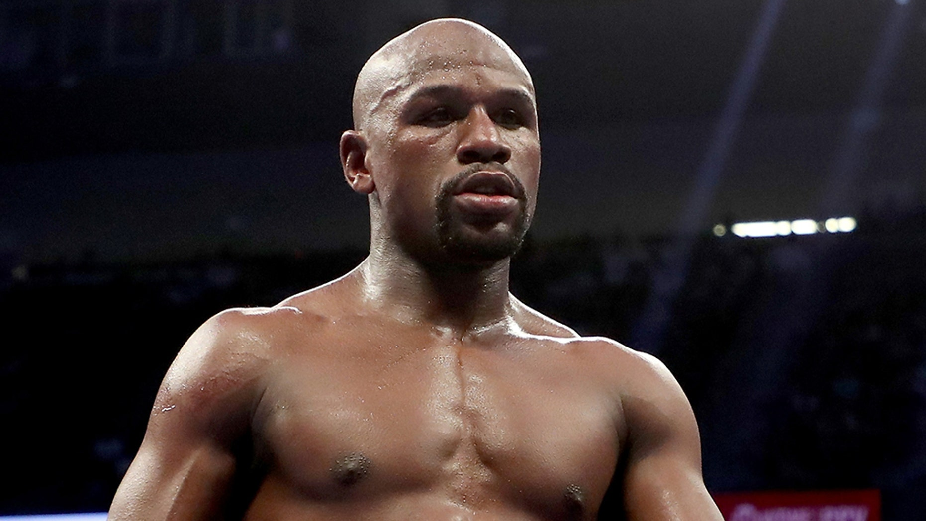 Floyd Mayweather announced skeleton for his successive quarrel on Monday.