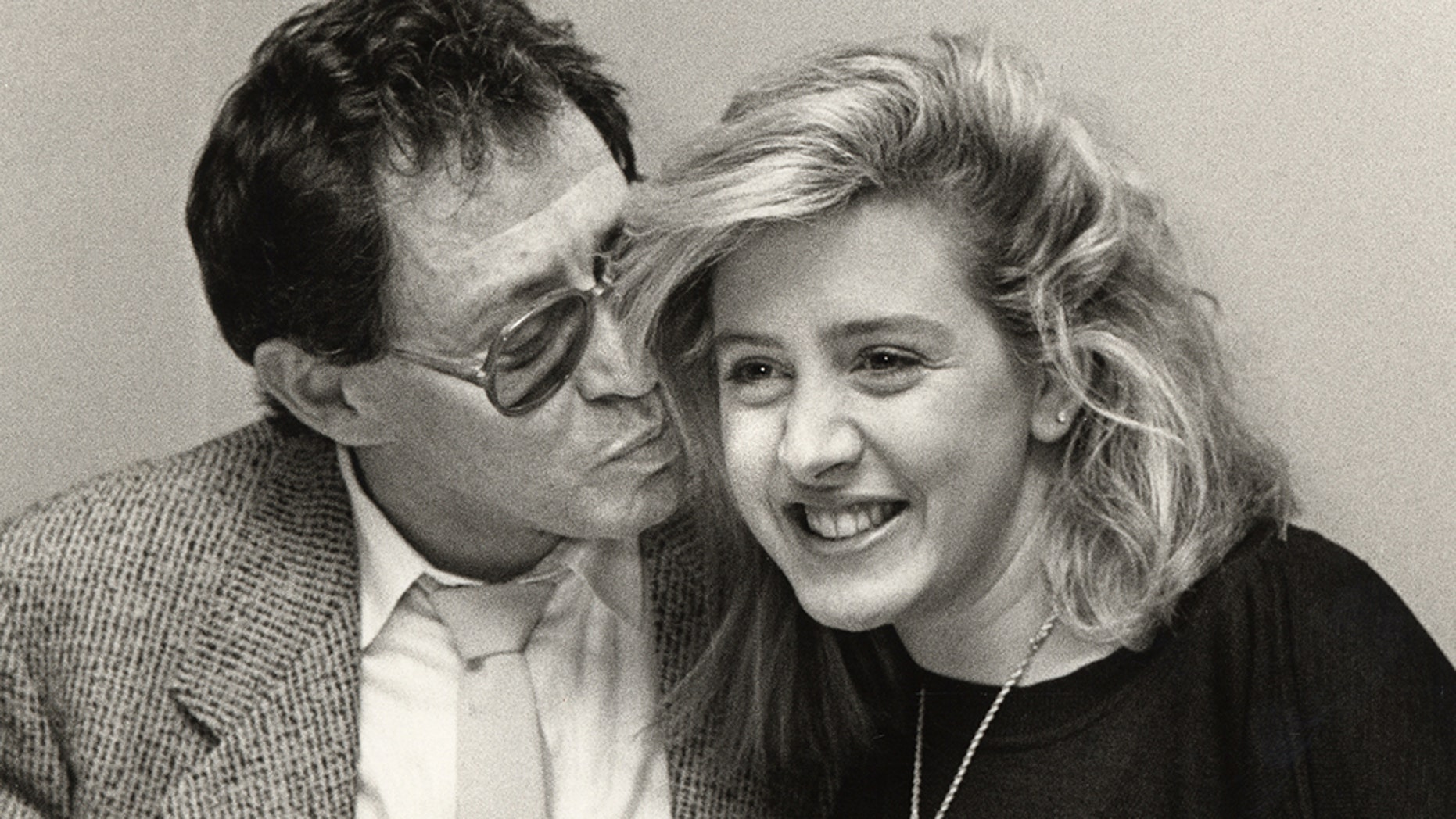 Eddie Fisher and Joely Fisher.
