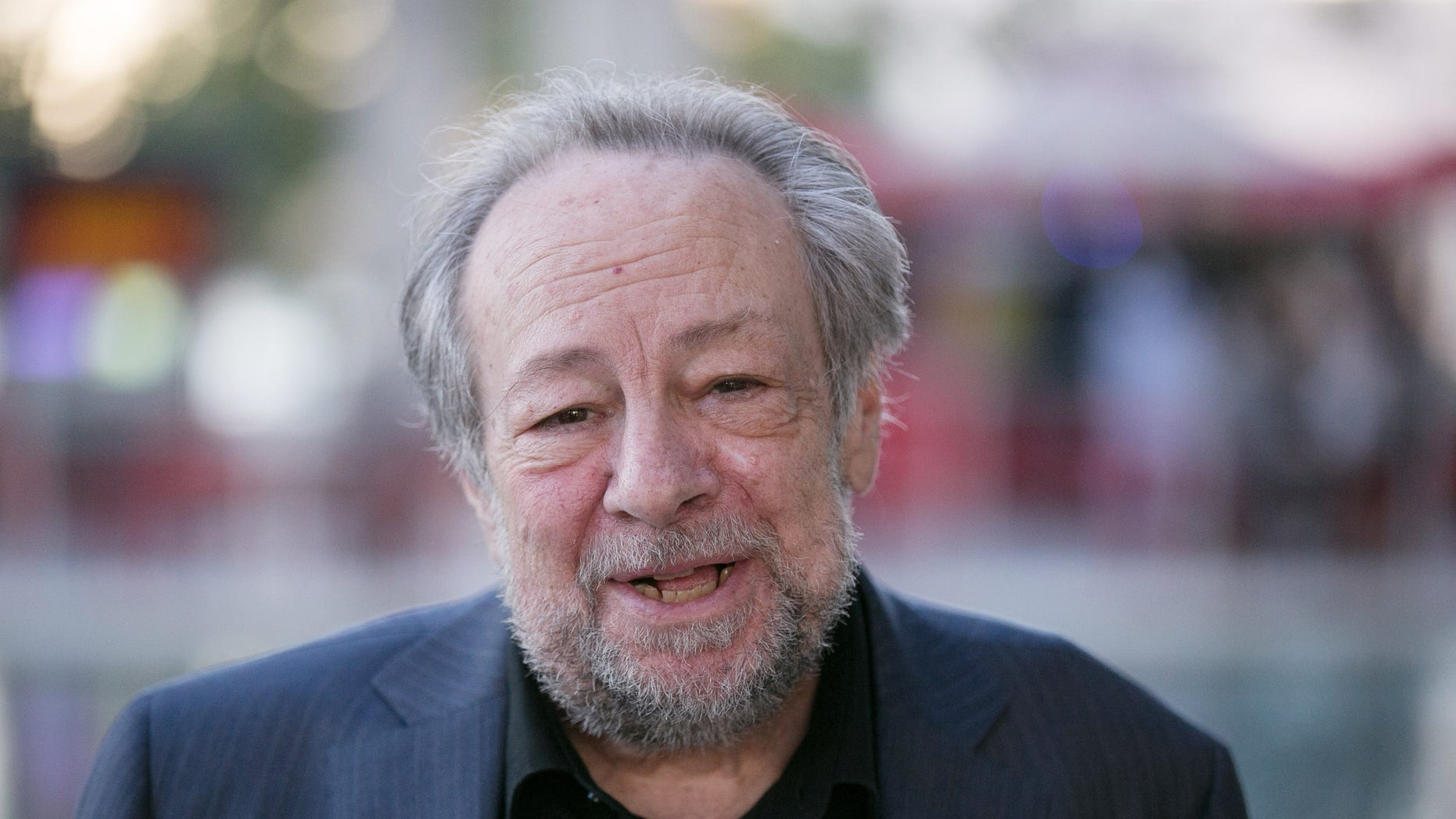 """Ricky Jay arrives to the opening night of """"Ma Rainey's Black Bottom"""" at Mark Taper Forum on September 11, 2016 in Los Angeles, California."""