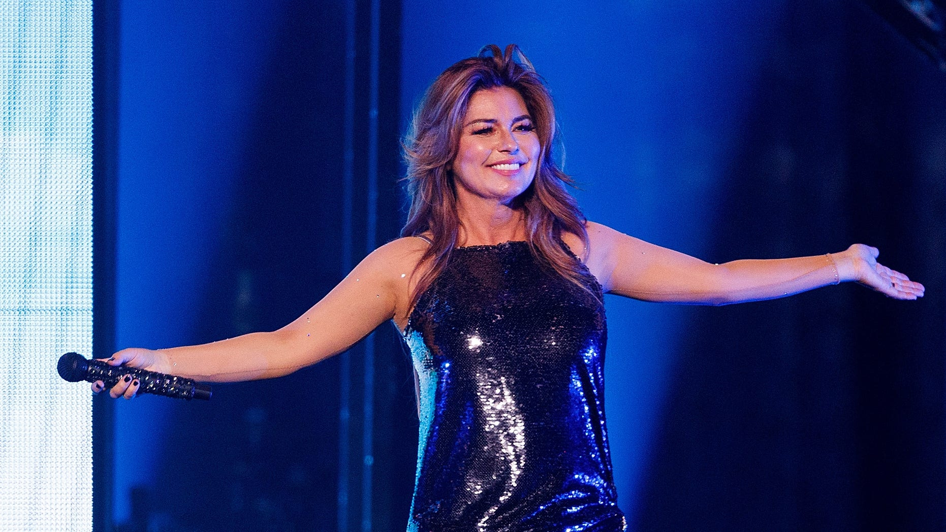 Shania Twain revealed that she frequently gets starstruck after all these years in show business.