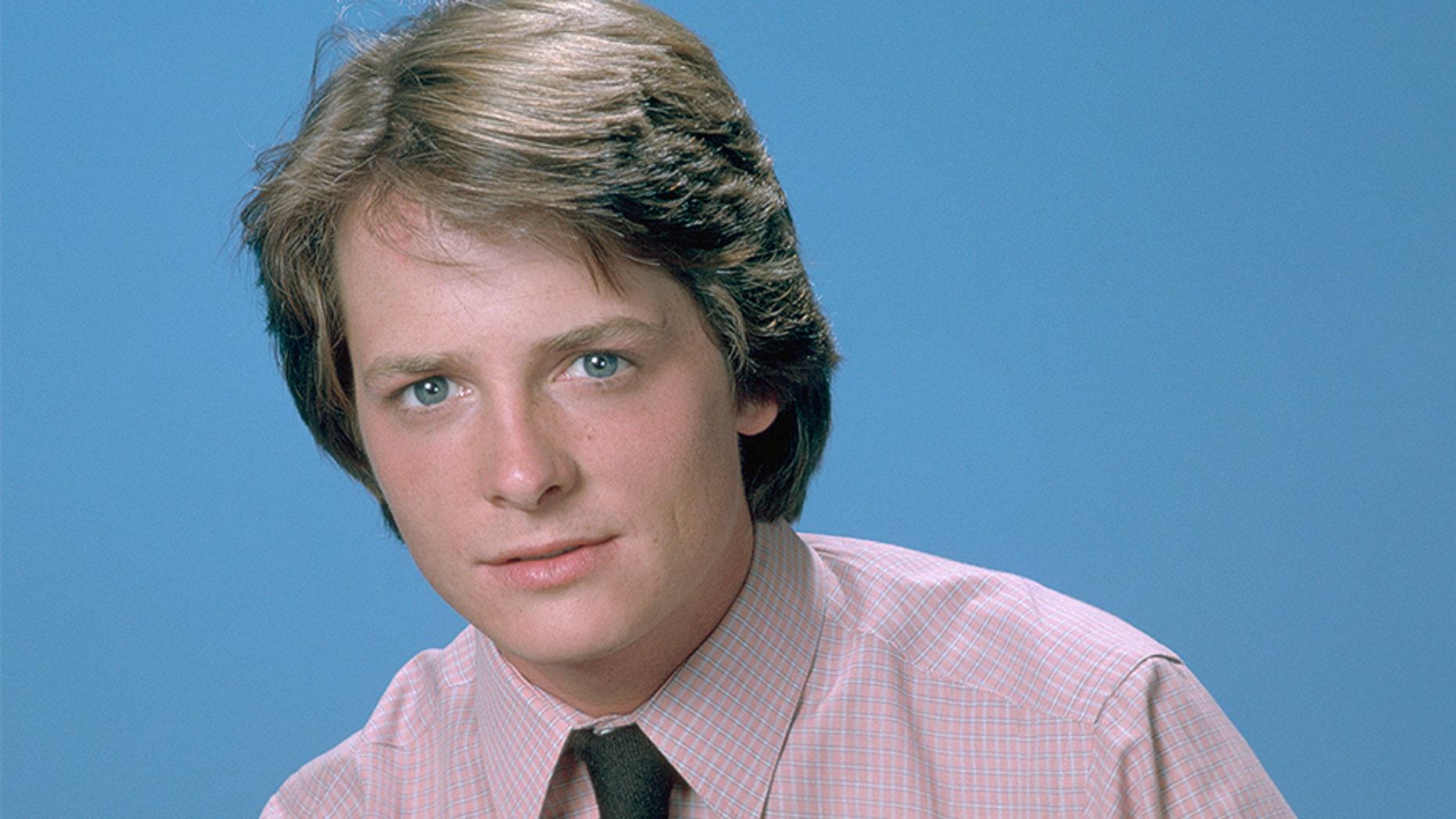 "Michael J. Fox in ""Family Ties."""