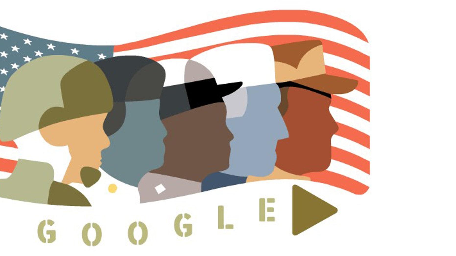 Google Veteran's Day Doodle (Google)
