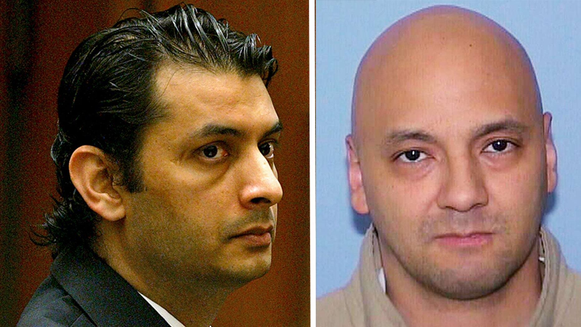 Virendra Govin, left, and Andrew Urdiales, right, were both found unresponsive at the San Quentin State Prison in California over the weekend.