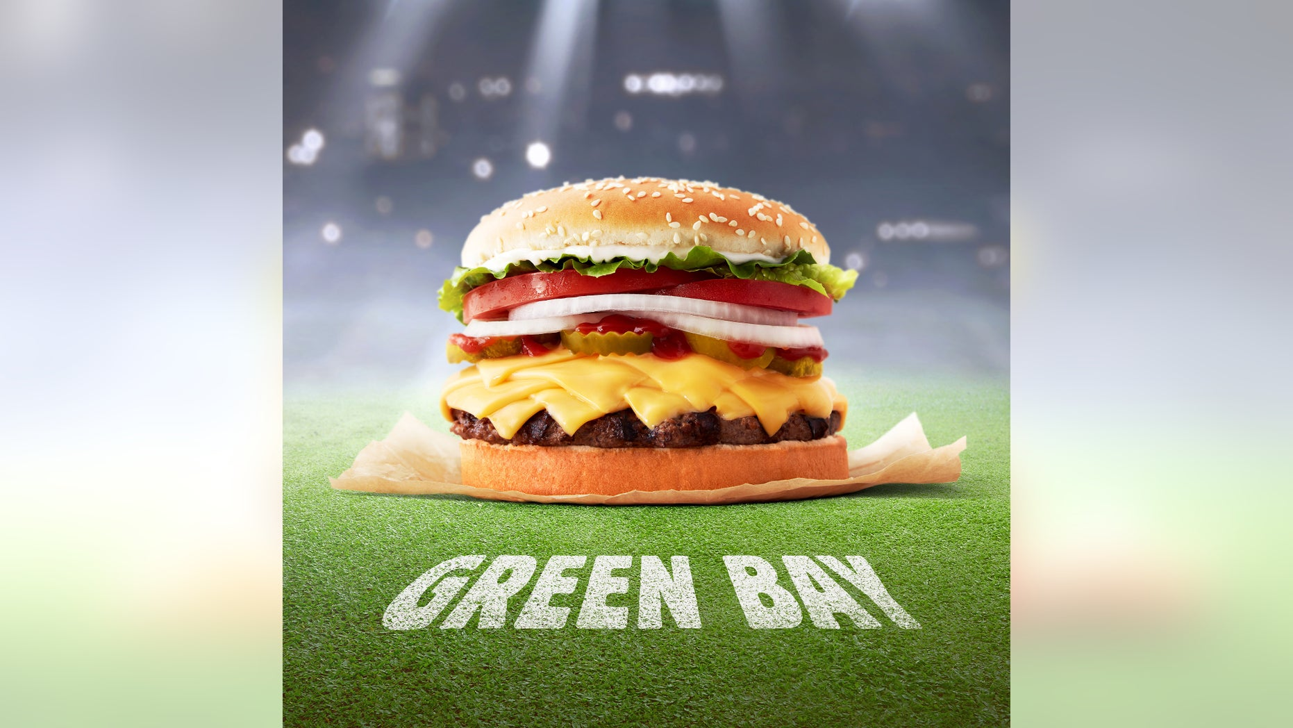 Burger King created a special Whopper just for the Green Bay area -- with extra cheese.