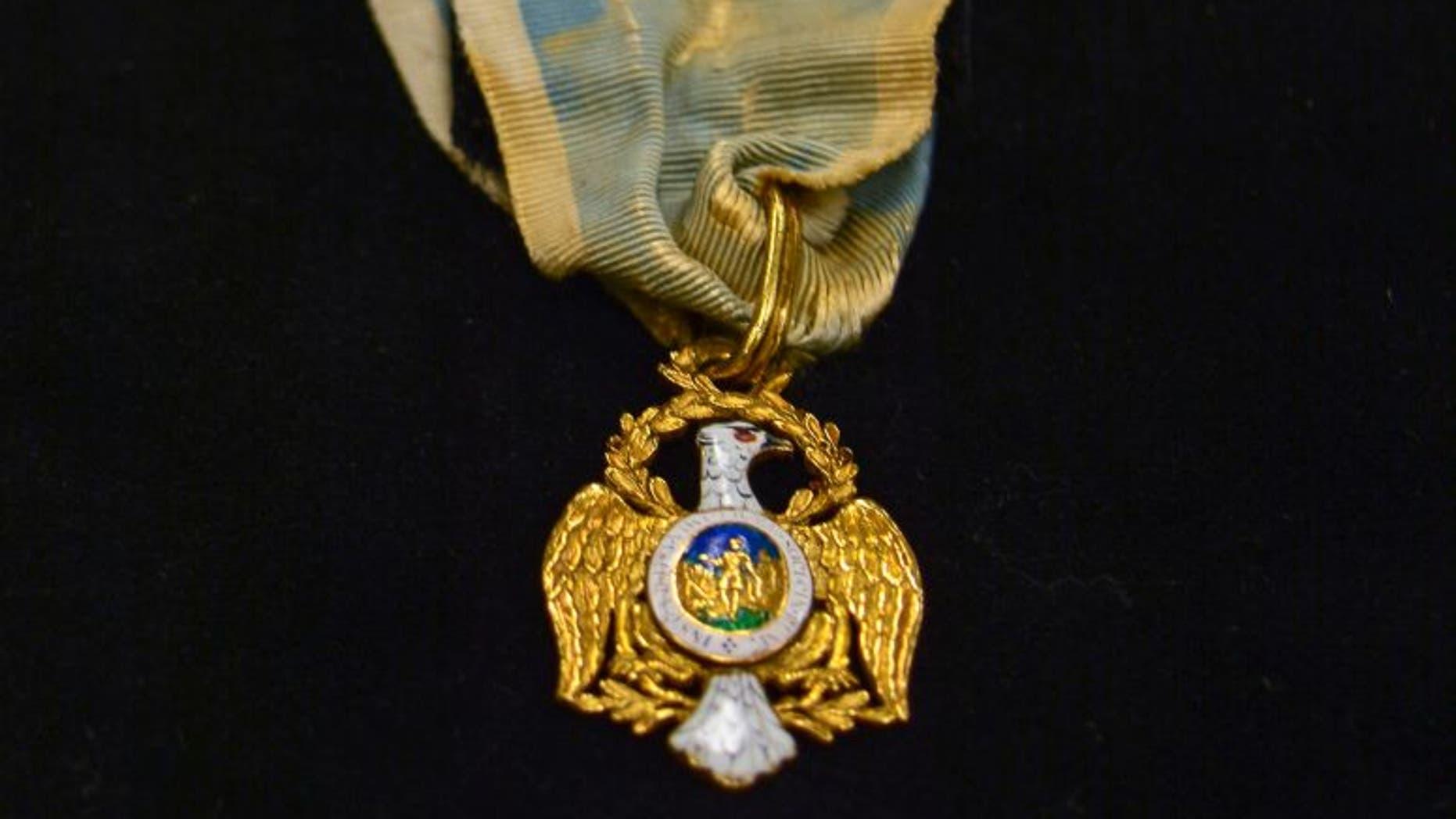 The Society of the Cincinnati Eagle insignia