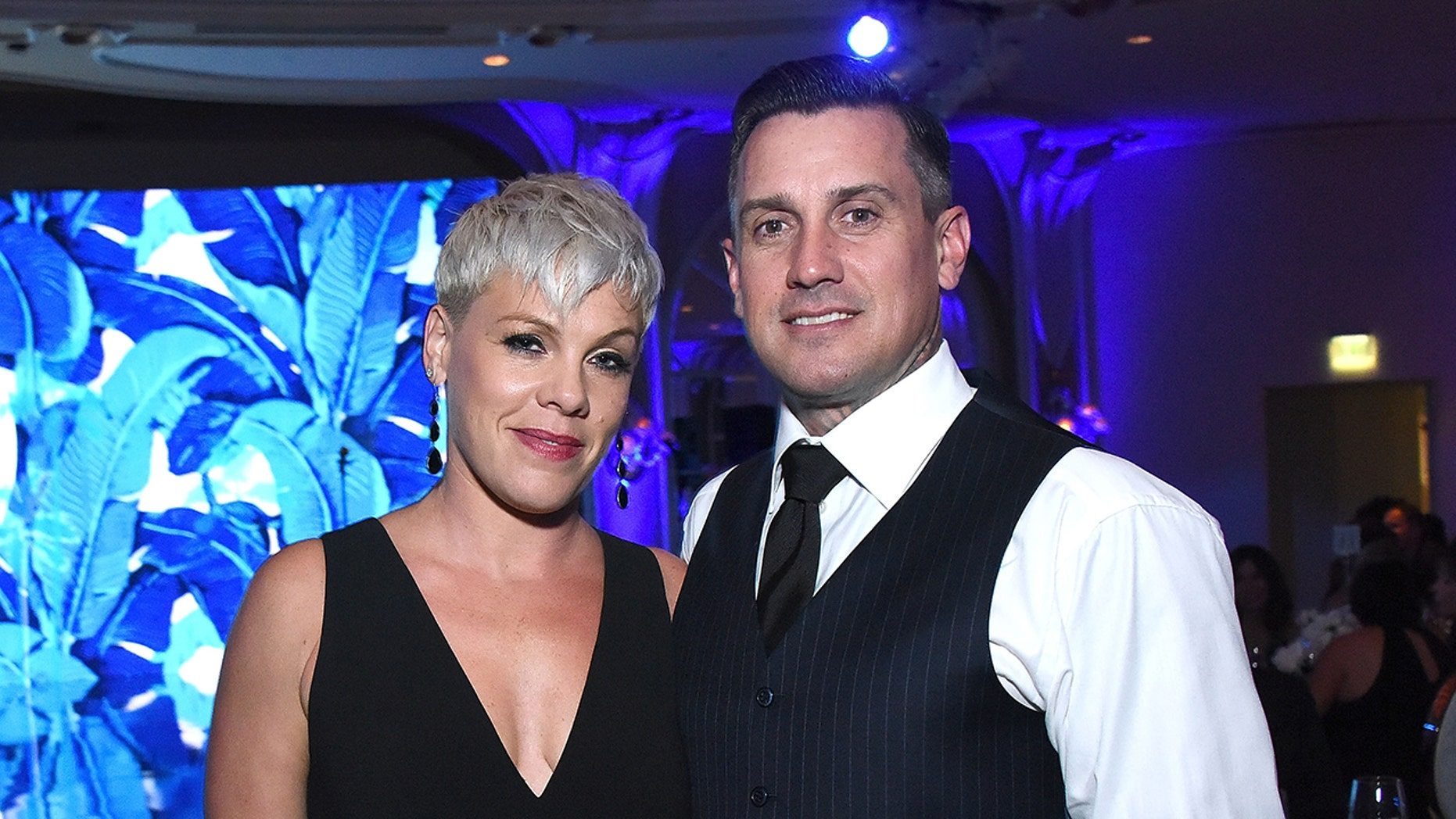 Pink's Husband Suggests That California Wildfire 'Looters Will Be Shot on Site'