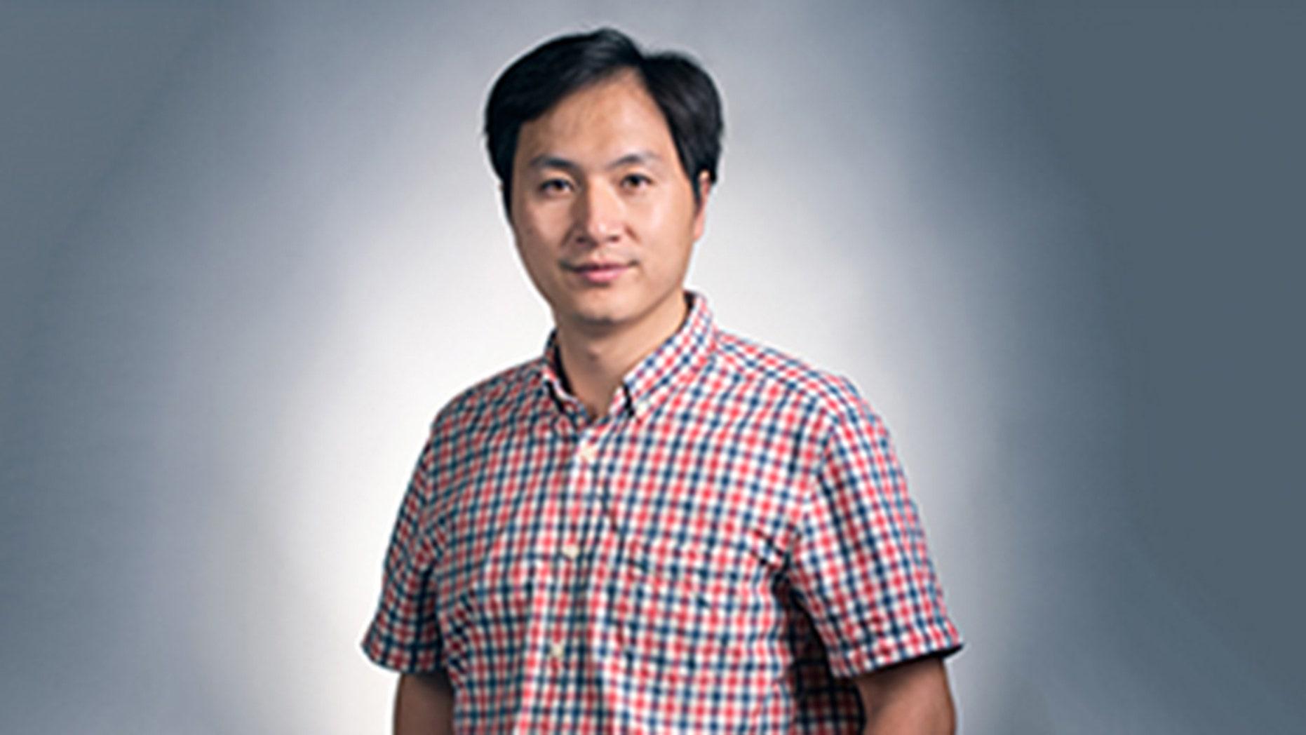 Researcher He Jiankui