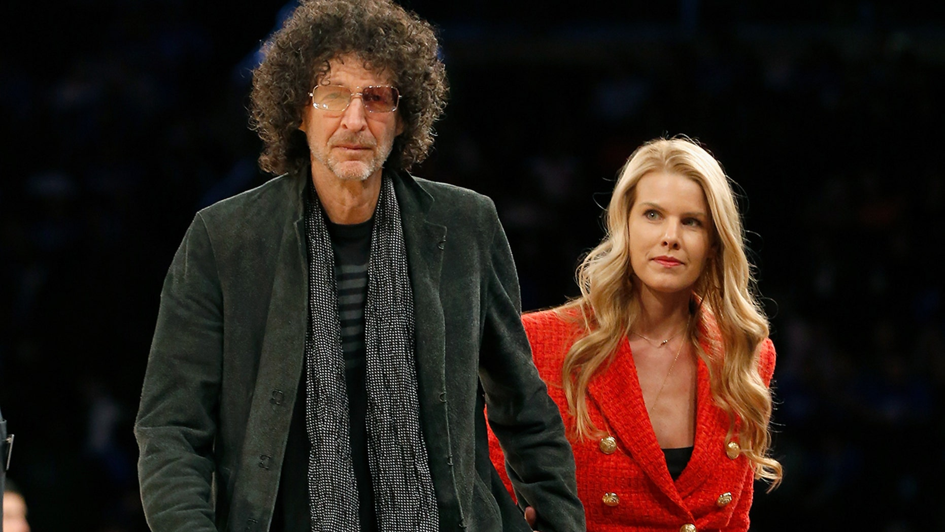 Howard Stern's wife Beth was mocked on social media for her smiling tribute to Pittsburgh after the shooting. (Photo by Jim McIsaac/Getty Images)