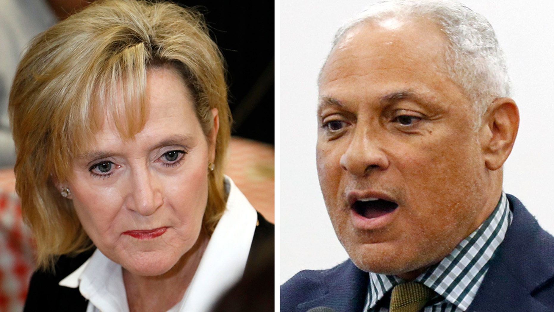 Mississippi Senate runoff candidates, Republican Cindy Hyde-Smith and Democrat Mike Espy